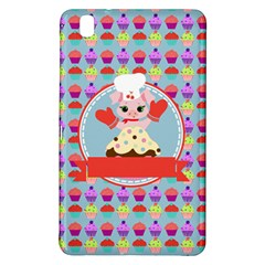 Cupcake With Cute Pig Chef Samsung Galaxy Tab Pro 8 4 Hardshell Case