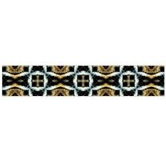 Faux Animal Print Pattern Flano Scarf (large)