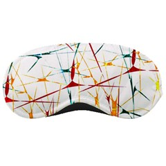 Colorful Splatter Print Sleeping Mask by dflcprints