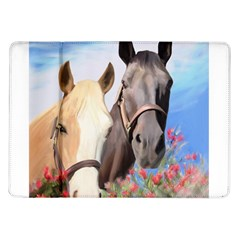 Miwok Horses Samsung Galaxy Tab 10 1  P7500 Flip Case by JulianneOsoske