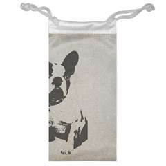 French Bulldog Art Jewelry Bag by TailWags