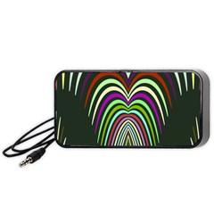 Symmetric Waves Portable Speaker