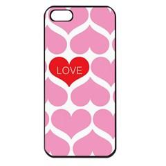 One Love Apple Iphone 5 Seamless Case (black)