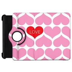 One Love Kindle Fire Hd Flip 360 Case by Kathrinlegg