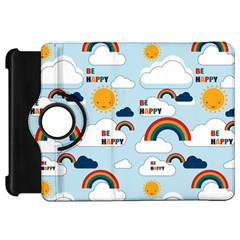 Be Happy Repeat Kindle Fire Hd Flip 360 Case by Kathrinlegg