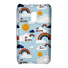 Be Happy Repeat Nokia Lumia 620 Hardshell Case by Kathrinlegg