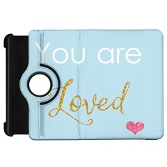 You Are Loved Kindle Fire Hd Flip 360 Case by Kathrinlegg