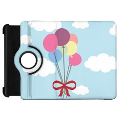 Balloons Kindle Fire Hd Flip 360 Case by Kathrinlegg