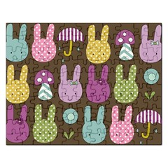 Bunny  Jigsaw Puzzle (rectangle) by Kathrinlegg