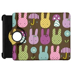 Bunny  Kindle Fire Hd Flip 360 Case by Kathrinlegg