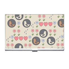 Love Birds Business Card Holder by Kathrinlegg