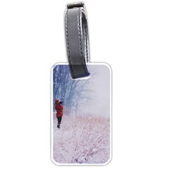 Untitled1 Luggage Tag (two Sides) by things9things