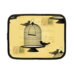 Victorian Birdcage Netbook Sleeve (small) by boho