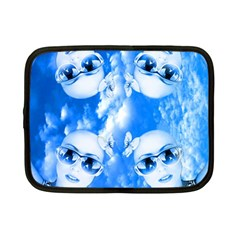 Skydivers Netbook Sleeve (small) by icarusismartdesigns