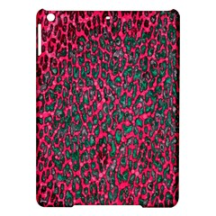 Florescent Pink Leopard Grunge  Apple Ipad Air Hardshell Case by OCDesignss