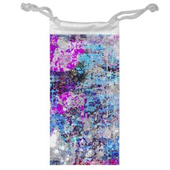 Graffiti Splatter Jewelry Bag by ArtistRoseanneJones