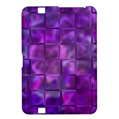 Purple Squares Kindle Fire Hd 8 9  Hardshell Case by KirstenStar