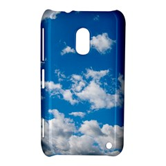 Bright Blue Sky Nokia Lumia 620 Hardshell Case by ansteybeta