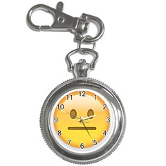 Neutral Face  Key Chain Watch by Bauble