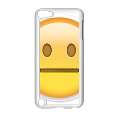 Neutral Face  Apple Ipod Touch 5 Case (white)