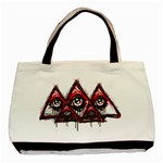 Red White pyramids Classic Tote Bag Front