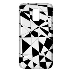 Shattered Life In Black & White Samsung Galaxy S5 Mini Hardshell Case  by StuffOrSomething