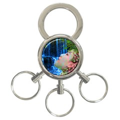 Fountain Of Youth 3 Ring Key Chain by icarusismartdesigns