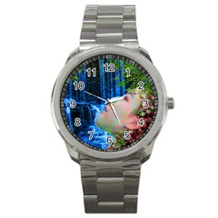 Fountain Of Youth Sport Metal Watch