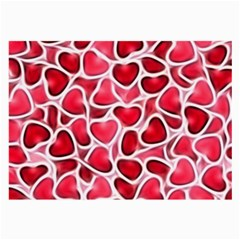 Candy Hearts Glasses Cloth (large) by KirstenStar