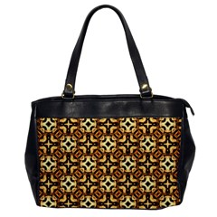 Faux Animal Print Pattern Office Handbags by creativemom