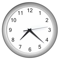 I Used To Care Wall Clocks (silver)