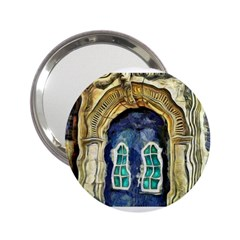 Luebeck Germany Arched Church Doorway 2 25  Handbag Mirrors by karynpetersart