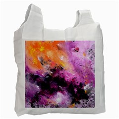 Nebula Recycle Bag (one Side) by timelessartoncanvas