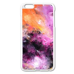 Nebula Apple Iphone 6 Plus Enamel White Case by timelessartoncanvas