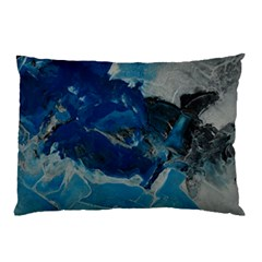 Blue Abstract No  6 Pillow Cases (two Sides)