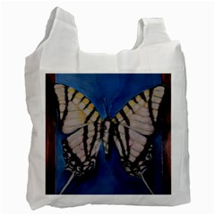 Butterfly Recycle Bag (one Side) by timelessartoncanvas