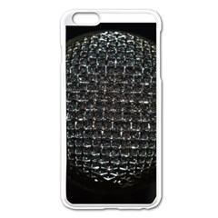 Modern Microphone Apple Iphone 6 Plus Enamel White Case by timelessartoncanvas