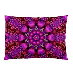 Pink Fractal Kaleidoscope  Pillow Cases (two Sides)
