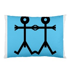 Love Men Icon Pillow Cases (Two Sides)