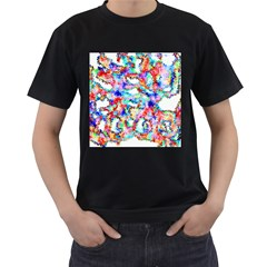 Soul Colour Light Men s T Shirt (black) by InsanityExpressed