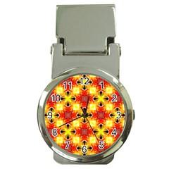 Cute Pretty Elegant Pattern Money Clip Watches