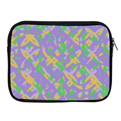 Mixed Shapes Apple Ipad 2/3/4 Zipper Case by LalyLauraFLM