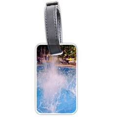 Splash 3 Luggage Tags (one Side)  by icarusismartdesigns