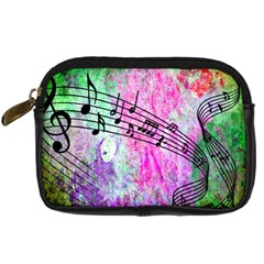Abstract Music  Digital Camera Cases