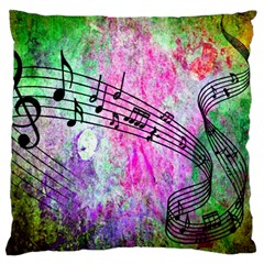 Abstract Music 2 Large Cushion Cases (two Sides)
