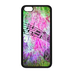 Abstract Music 2 Apple Iphone 5c Seamless Case (black)