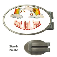Best  Dad  Ever Money Clips (oval)  by redcow