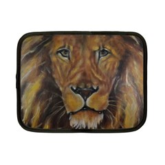 Cecil The African Lion Netbook Case (small)  by timelessartoncanvas