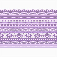 Fancy Tribal Borders Lilac Collage 12  x 18  by ImpressiveMoments