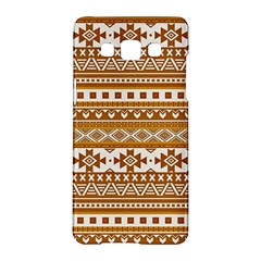 Fancy Tribal Borders Golden Samsung Galaxy A5 Hardshell Case